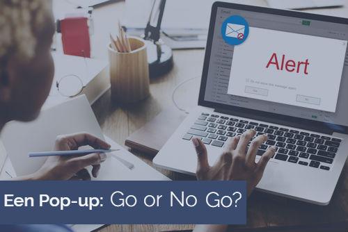Pop-up op je website? Go or no go? Blog Bratpack