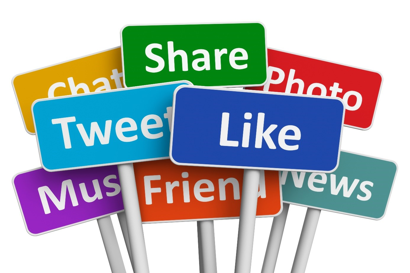 social media inzetten
